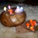 LED Glow Mushrooms