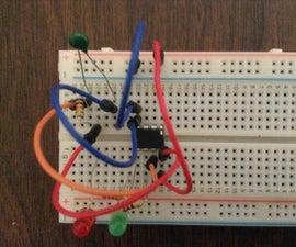 ATTiny85 Mono Temperature Monitor