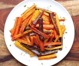 how to roast carrots