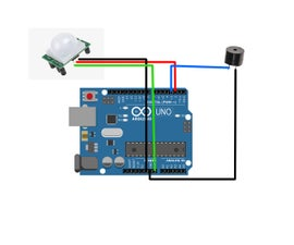 Anti-Theft Infrared Sensor With Arduino