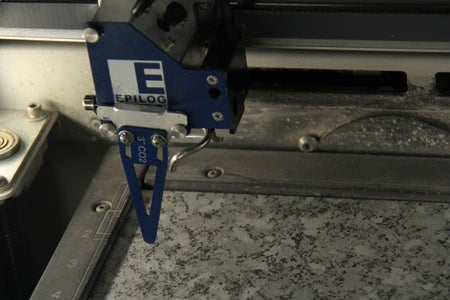 Measure the Material to the Correct Proportions for the Laser