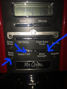 Checking Your Coffee Pots Settings