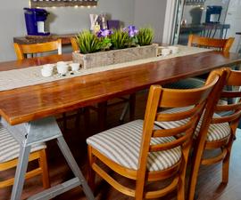 Barn Wood Table Refinishing