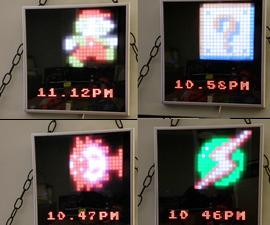 8 Bit Sprite Clock