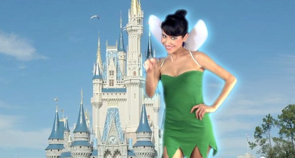 How-To: Tinkerbell Costume From a T-Shirt