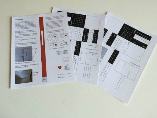 Picture of Print the Template