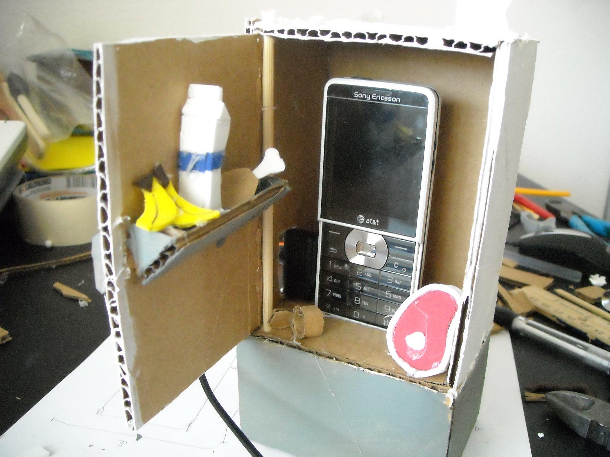 cardboard phone holder  6 steps  instructables