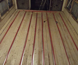 Putting a Heated Floor in a Bus (part 1)