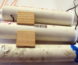 Build a battery pack using PVC pipes