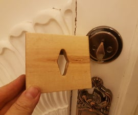 A way to Secure the Deadbolt from inside