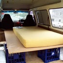 Easy camper van conversion