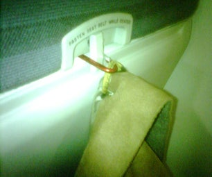 Hang That Jacket While on an Airplane