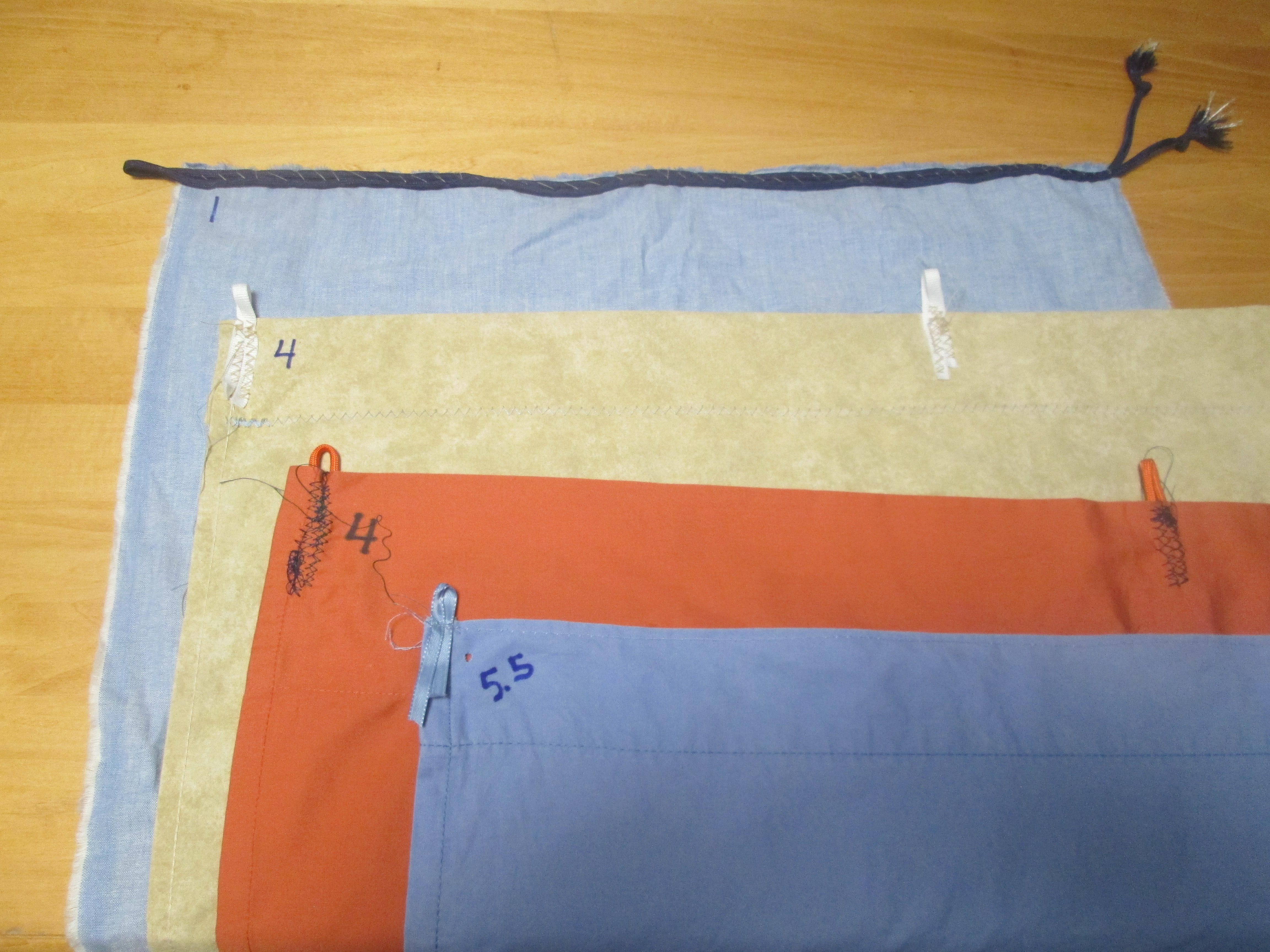 Picture of Create the Fabric Panels.