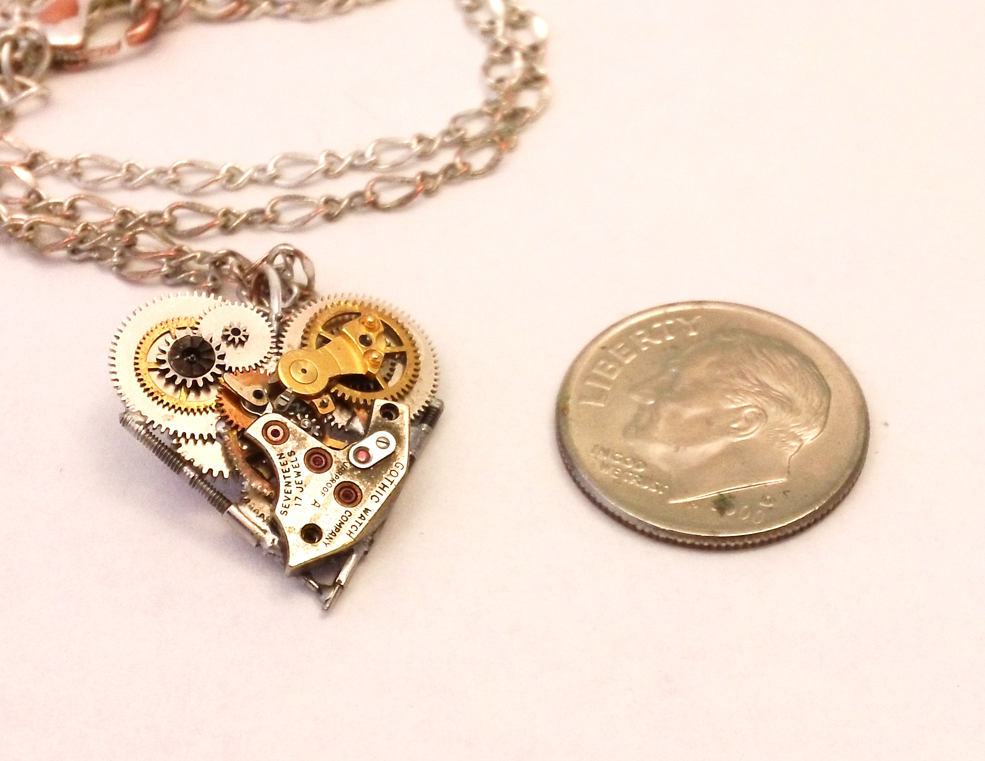 Picture of Clockwork Heart Pendent