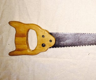 Restoring Antique Hand Saw Using Home Remedy for Rust Removal