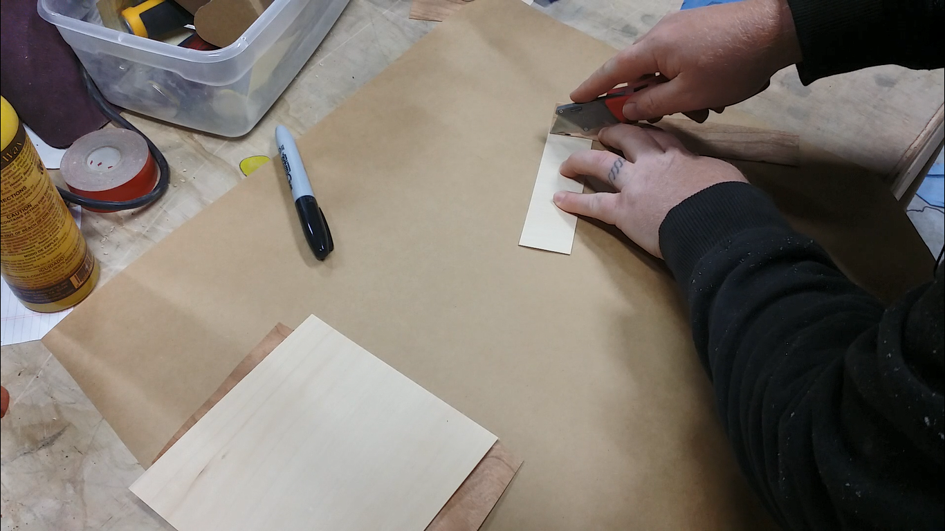 Picture of Measuring & Cutting Squares
