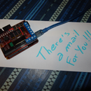 How to control arduino with a mail