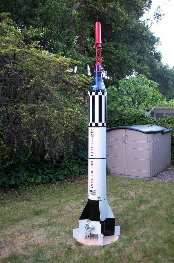 Mercury Joe: Semi-scale Flying GI Joe Redstone Rocket