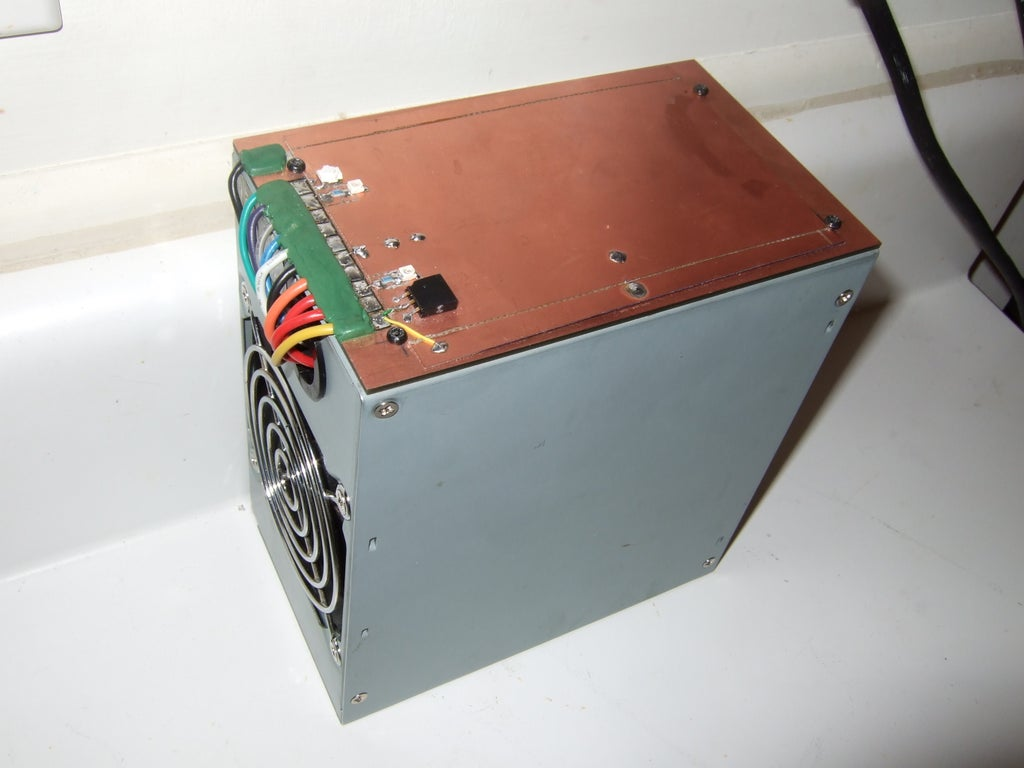 Easy ATX Bench Top Power Supply : 4 Steps