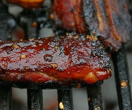 Five Spice Honey BBQ Rib Tips