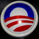 Obama campaign Logo Lamp - Light up for Obama