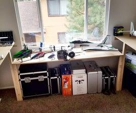 $6.00 Emergency Wrap-Around Hobby Desk