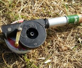 Fire Starting Air Turbine (BBQ Blower Fan Upcycling Upgrade)
