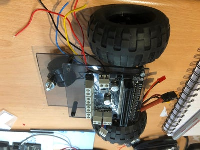Adding the Motors and Caster Wheel