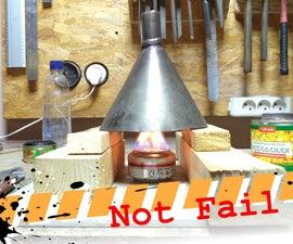Improvised Heat Gun Substitution Success