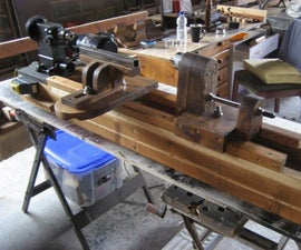 Homemade Woodworking Lathe