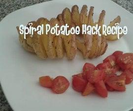 Spiral Potatoe Hack Recipe