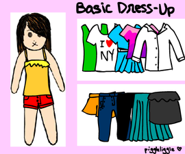 Basic 'Dress-Up' Flash Game