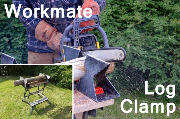 Log Clamping Jaws for Black & Decker Workmate - Cut With CNC Plasma