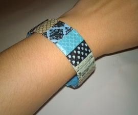 Washi Tape Bracelets (+Decorating Ideas)