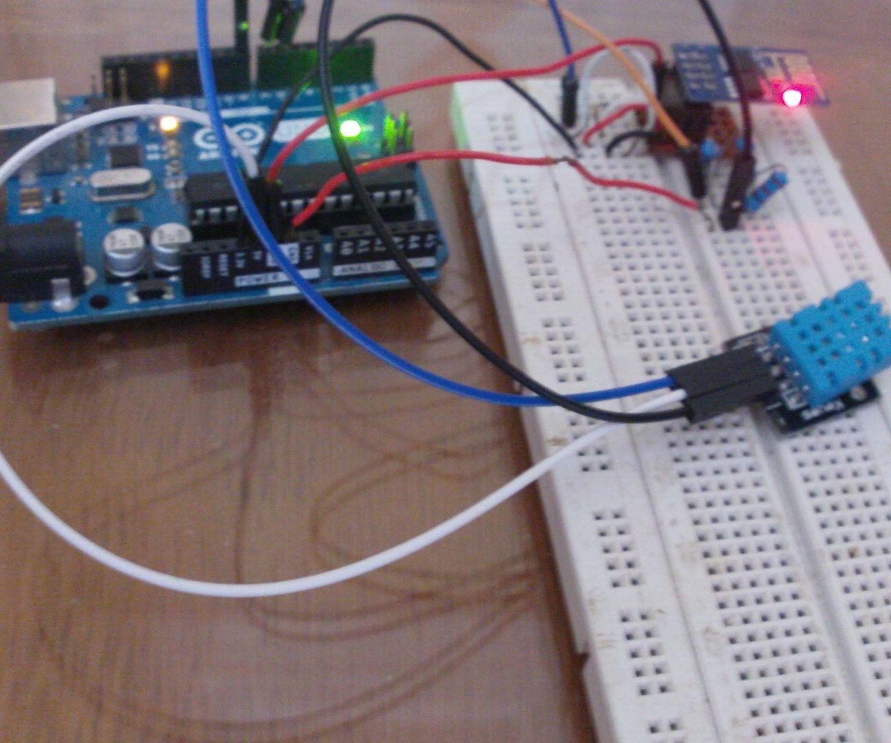 Arduino Esp8266 Post Data to Website: 6 Steps