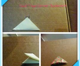Duck (duct) Tape corner bookmark