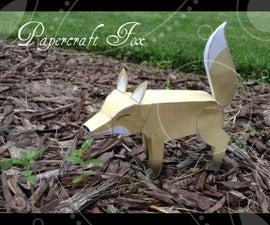 Diy Papercraft Fox