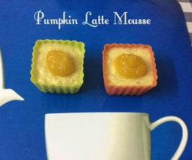 Pumpkin Latte mousse