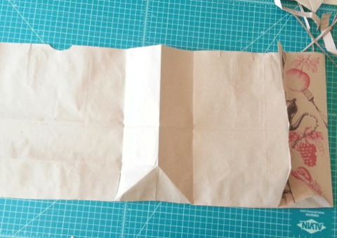 Picture of Cut and Iron the Paper Bag