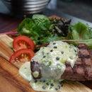 BBQ Steak Au Poivre