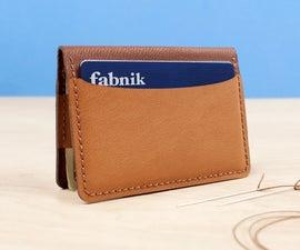 Custom Bifold Wallet Kit