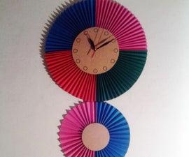 Decorative Paper Wall Clock