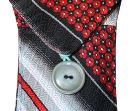 ReMake your own necktie cell phone case!