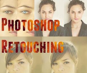 Photoshop Retouching   Skin Smoothing, Eye Enhancement and Divine Ratio