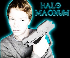 How you make a Halo Magnum! (With Slide and Magazine)