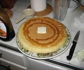 The Lazy Man's Pancake