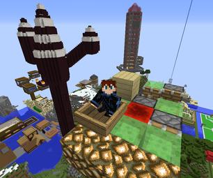 Minecraft Flying Machines
