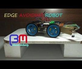EDGE AVOIDING ROBOT