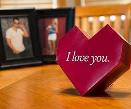 Paper Valentine - Print, Cut, Glue, LOVE.