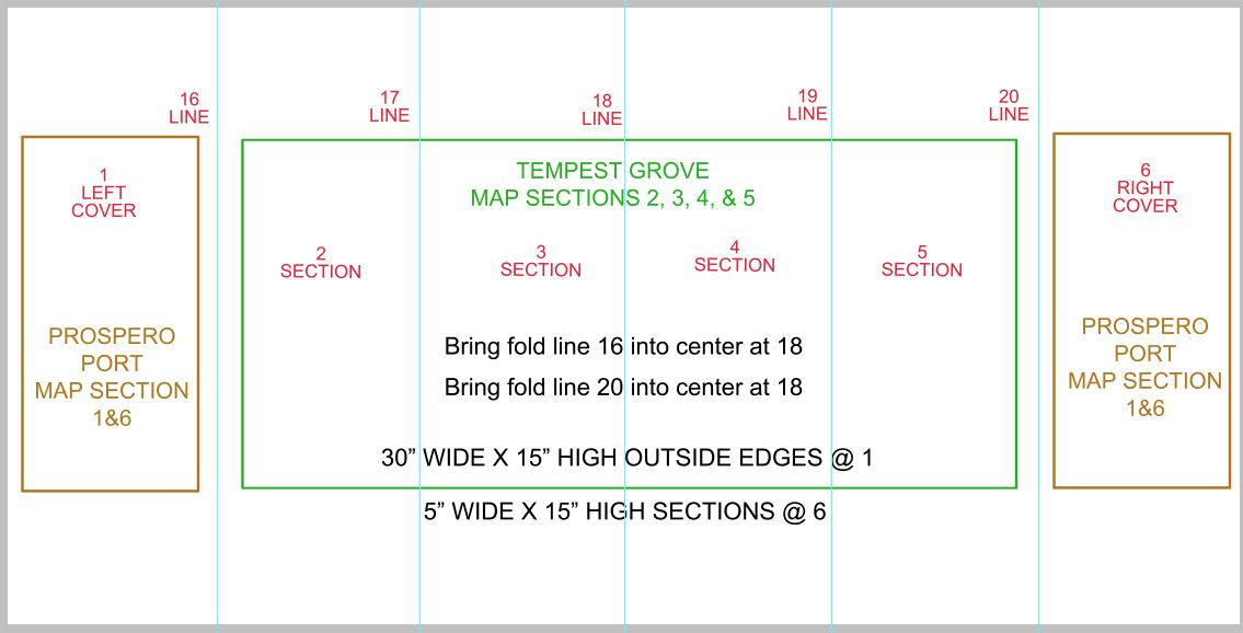 Picture of Main Inside Map Layout Guide.